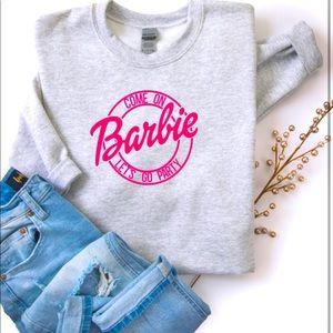 Barbie Crewneck- Custom